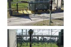 Abdichtungen für Ablaufwannen unter 380 kV Leistungstransformatoren